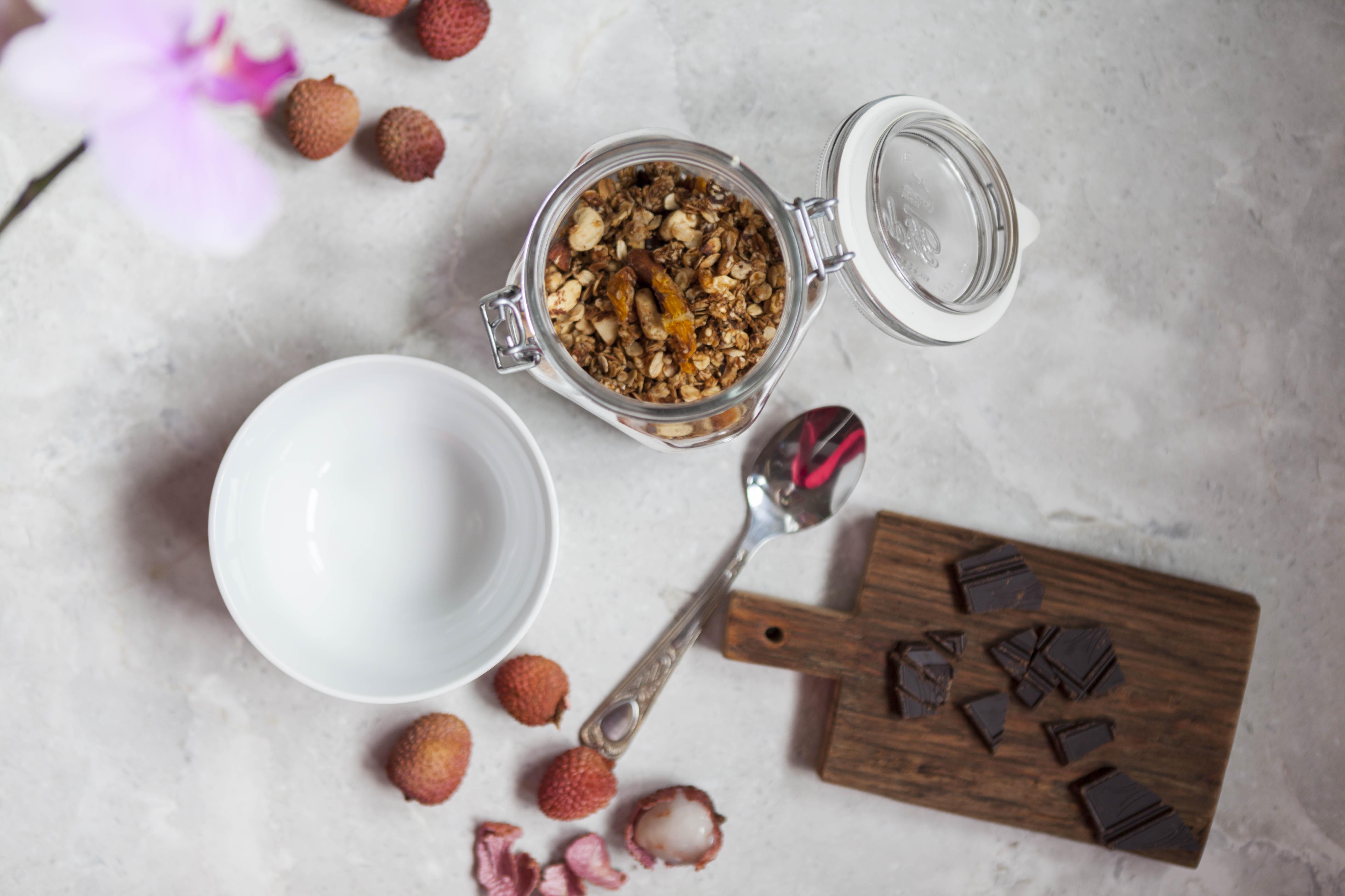 Bezglutenowa granola piernikowa