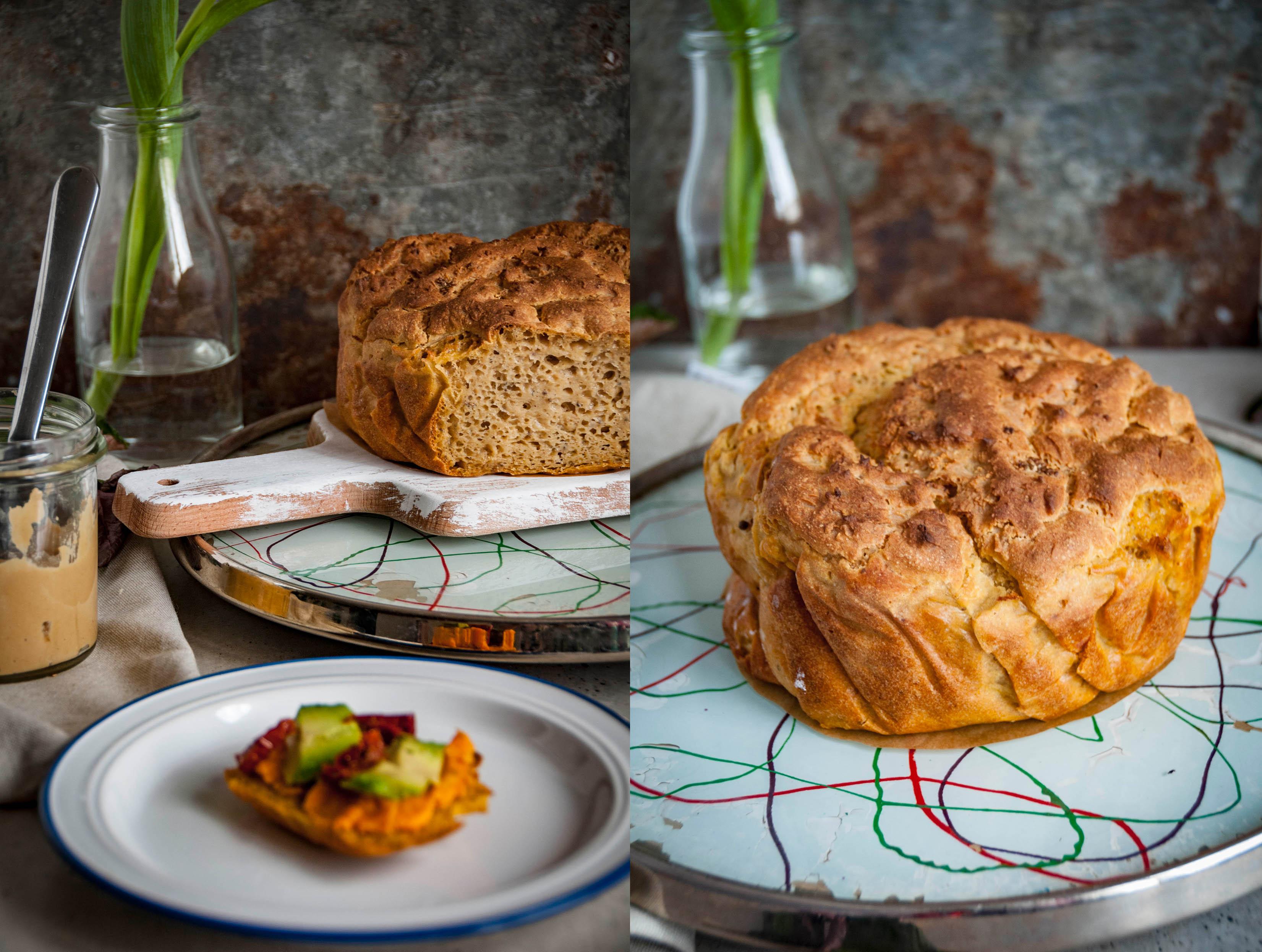 Wegański i bezglutenowy chleb